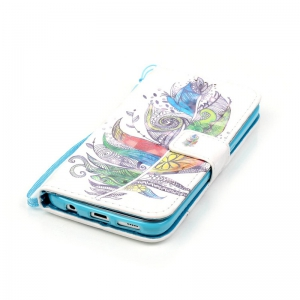 New 3D Painted Pu Phone Case for Samsung Galaxy S7 -