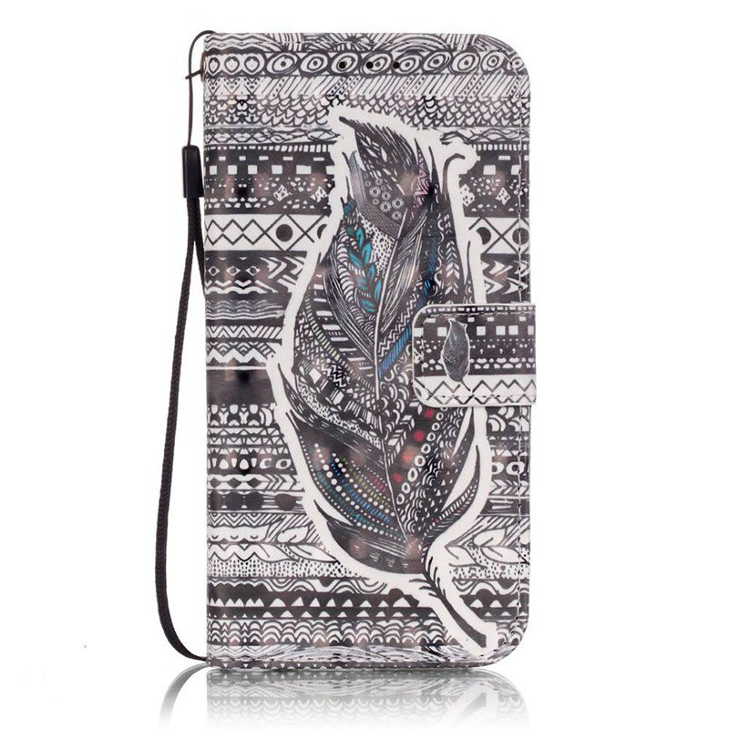 Shops New 3D Painted Pu Phone Case for Samsung Galaxy S7