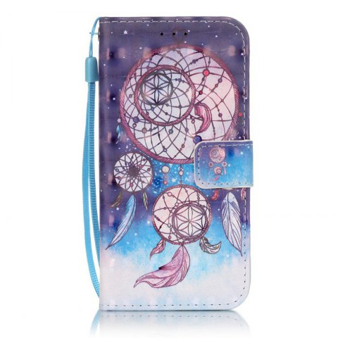 Latest New 3D Painted Pu Phone Case for Samsung Galaxy S6 Edge
