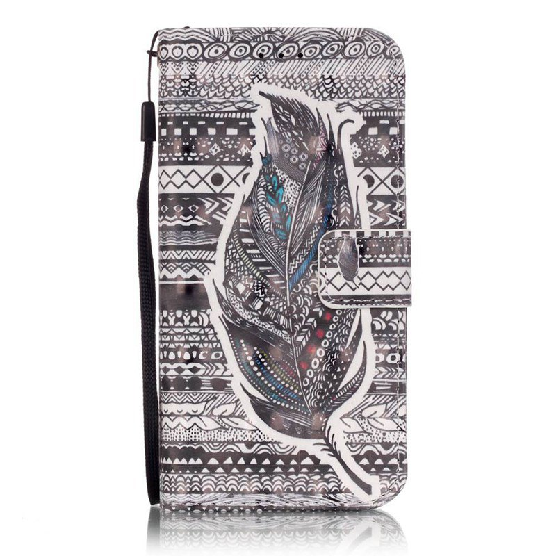Shops New 3D Painted Pu Phone Case for Samsung Galaxy S6 Edge