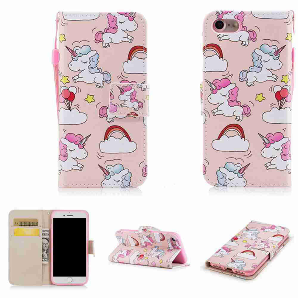 Latest Classic Painted Pu Phone Case for Iphone 7 Plus / 8 Plus