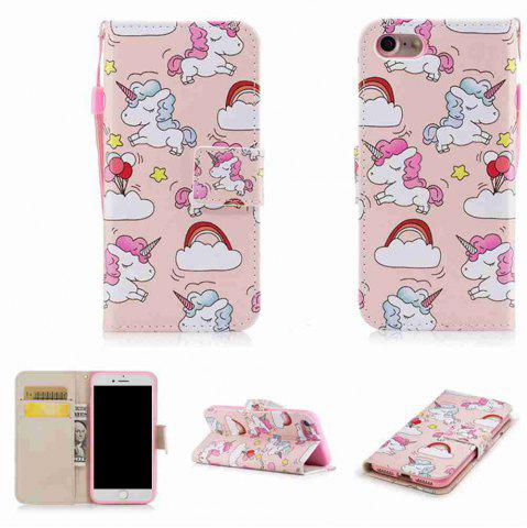 Fancy Classic Painted Pu Phone Case for Iphone 6 Plus / 6s Plus