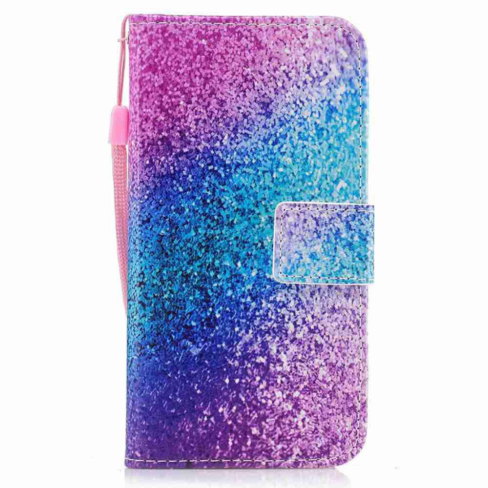 Classic Painted Pu Phone Case for Samsung Galaxy S7HOME<br><br>Color: DAHLIA;