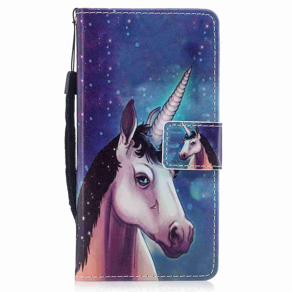 Hot Classic Painted Pu Phone Case for Samsung Galaxy A3 2017