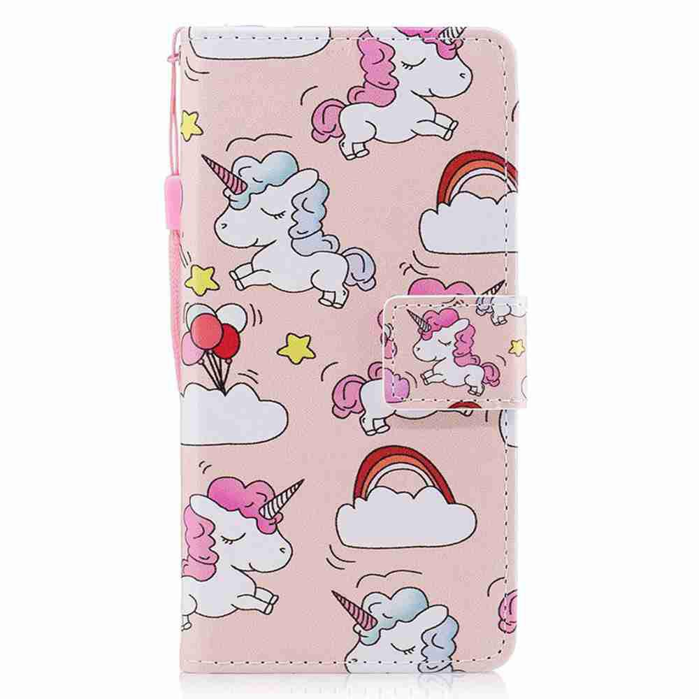 Shop Classic Painted Pu Phone Case for Huawei P8 Lite 2017