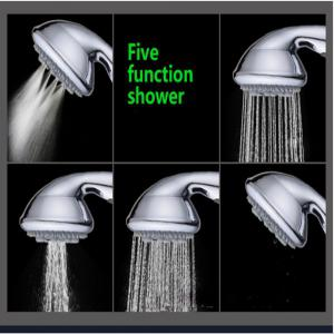 Sea Pioneer Shower Head Handheld Handset with 5 Way Modes -