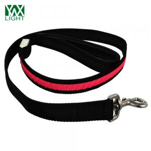 Ywxlight Led Luminescence Pet Traction Rope - Rouge