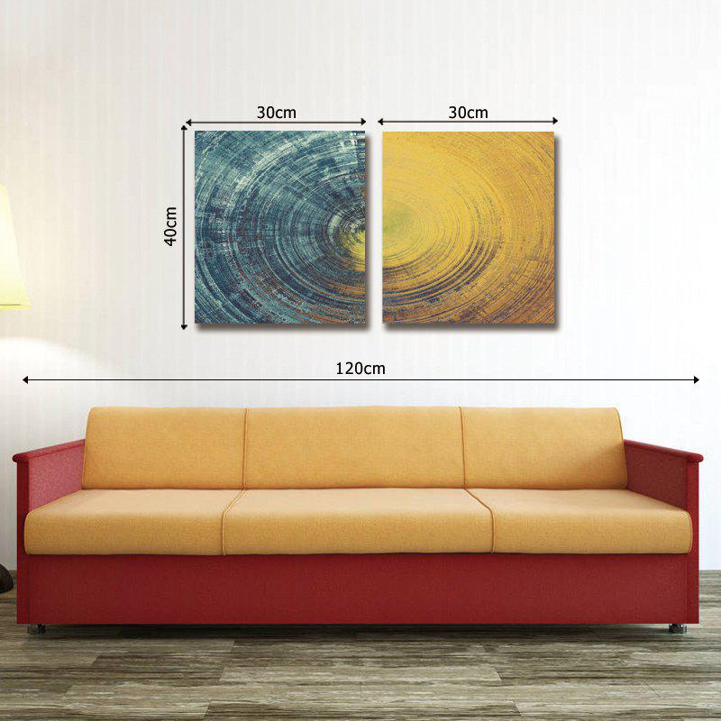 Dyc 10027 2PCS Abstract Print Art Ready To Hang Paintings