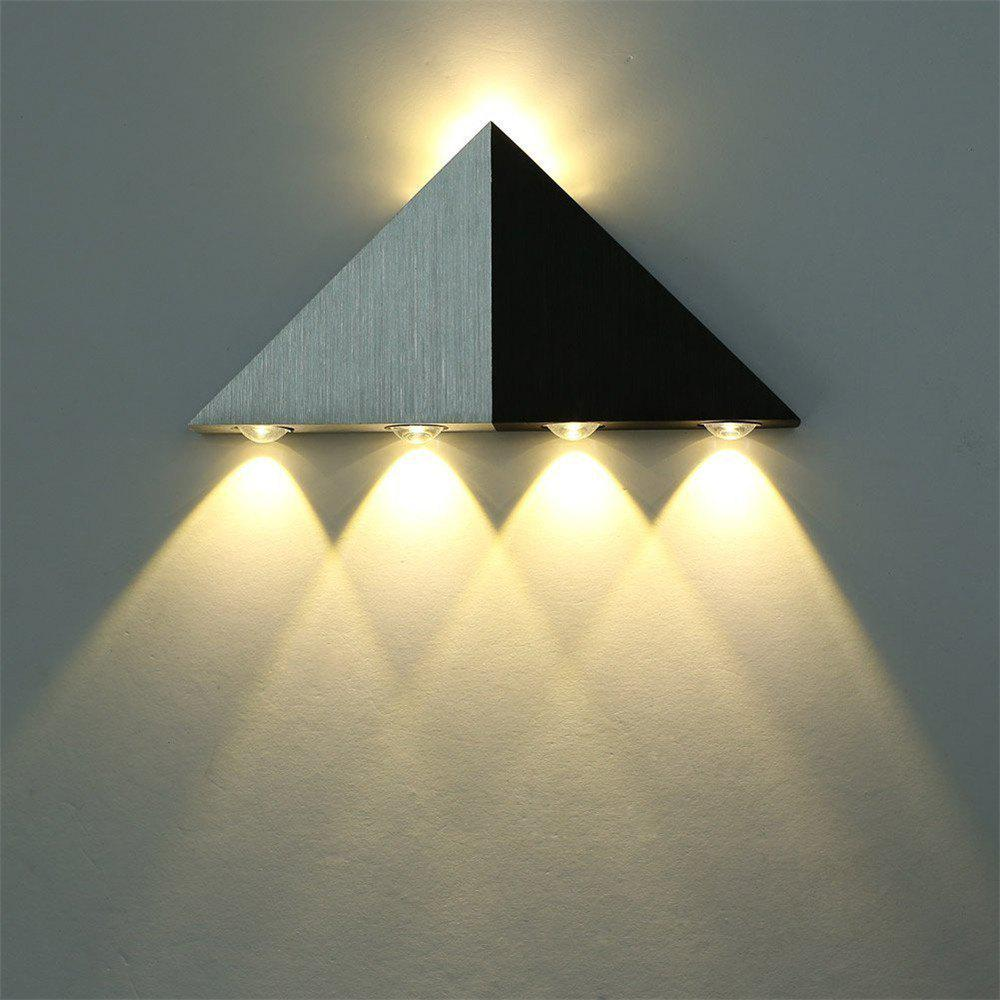 [39% OFF] Brightness Modern Triangle 5W LED Wall Sconce