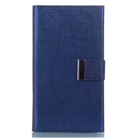 Affordable Wkae Cross Lines Texture PU Leather Wallet Case with Detached TPU Back Cover Card Slots for Samsung Galaxy S8
