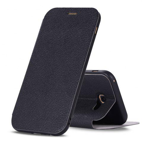 Trendy Colourful Textured Ultra-Slim Flip PU Leather Case for Samsung Galaxy A3 2017