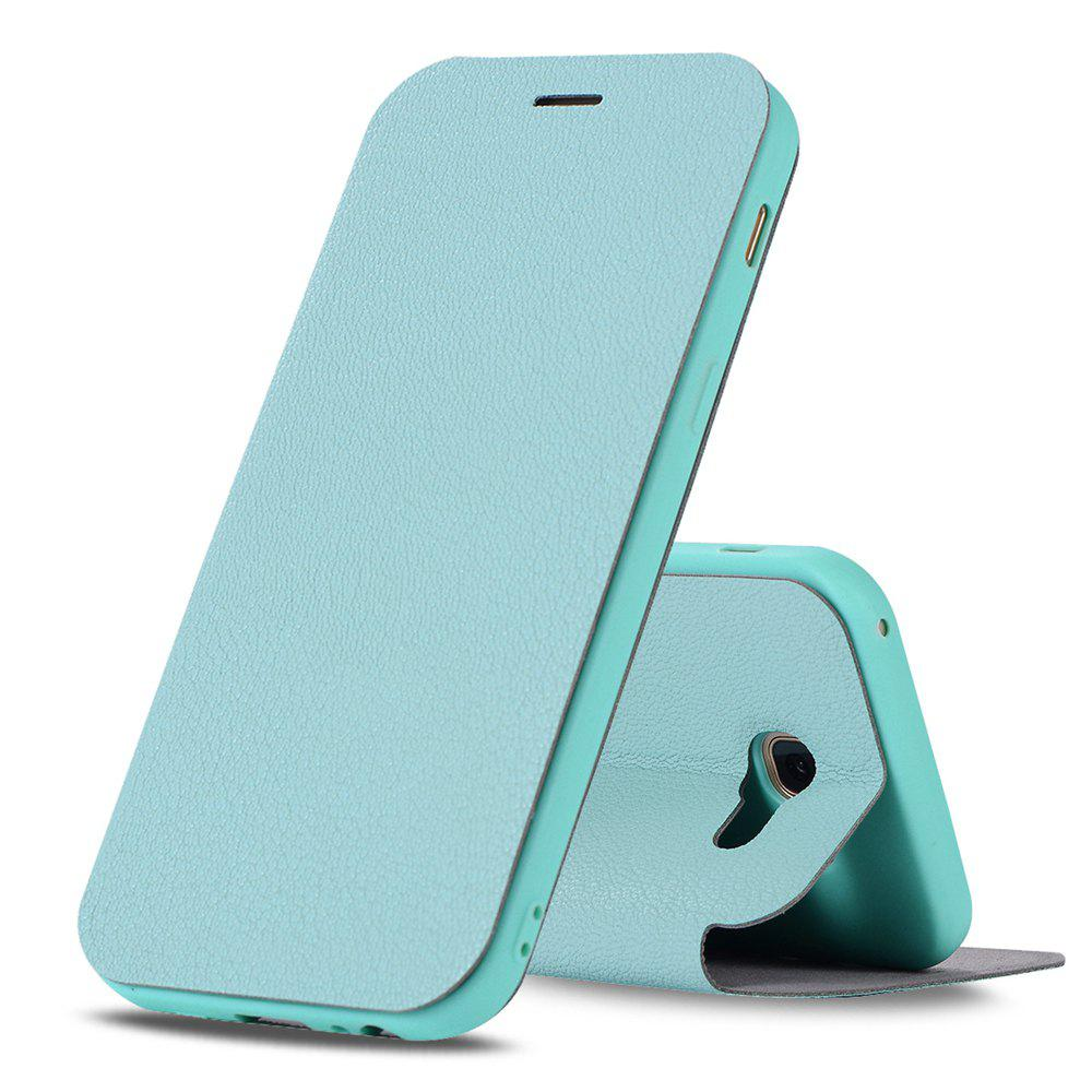 Sale Colourful Textured Ultra-Slim Flip PU Leather Case for Samsung Galaxy A3 2017