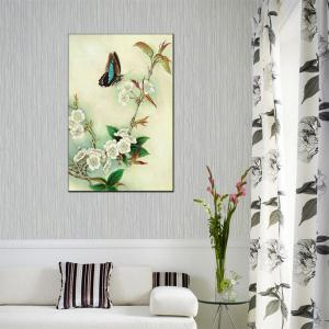 Hua Tuo Flower Butterfly Style Peinture à l'huile Taille 60 x 90CM Osr- 160428 -