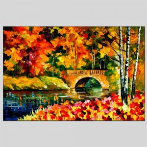 Hua Tuo Landscape Oil Painting Size 60 x 90CM Osr- 160434 -