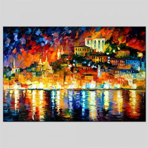 Hua Tuo Landscape Oil Painting Size 60 x 90CM Osr- 160437 -