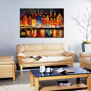 Hua Tuo Landscape Oil Painting Size 60 x 90CM Osr- 160438 -