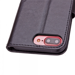 Yc Lucky Clover Stick Drill Card Lanyard B Pu Leather pour Iphone 8 Plus -