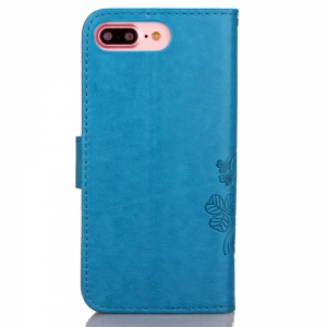 Yc Lucky Clover Stick Drill Card Lanyard B Pu Leather for Iphone 8 Plus -