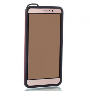 Wkae Ultra Thin Slim Dual Layer Pc Soft Tpu Back Protective Cover Case Shockproof with Kickstand for Huawei Mate 9 -