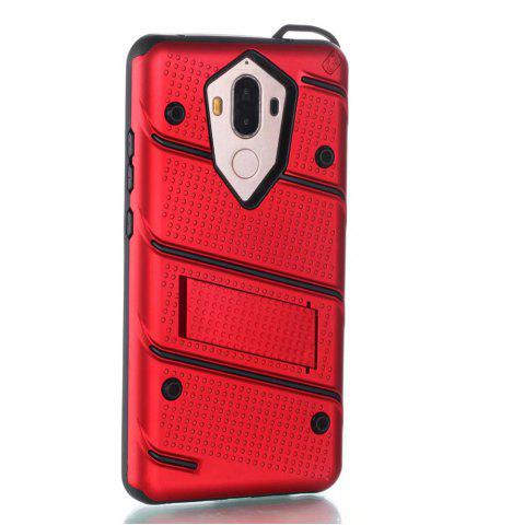 Hot Wkae Ultra Thin Slim Dual Layer Pc Soft Tpu Back Protective Cover Case Shockproof with Kickstand for Huawei Mate 9