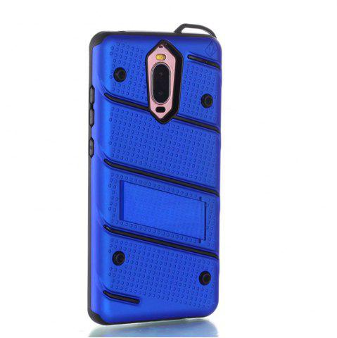 New Wkae Ultra Thin Slim Dual Layer Pc Soft Tpu Back Protective Cover Case Shockproof with Kickstand for Huawei Mate 9 Pro