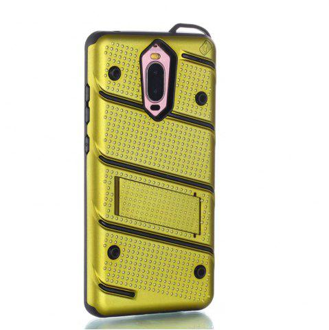 Sale Wkae Ultra Thin Slim Dual Layer Pc Soft Tpu Back Protective Cover Case Shockproof with Kickstand for Huawei Mate 9 Pro