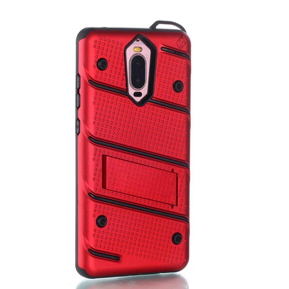 Store Wkae Ultra Thin Slim Dual Layer Pc Soft Tpu Back Protective Cover Case Shockproof with Kickstand for Huawei Mate 9 Pro