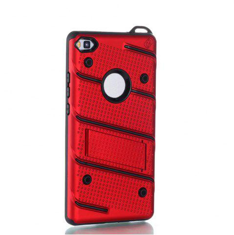 Buy Wkae Ultra Thin Slim Dual Layer Pc Soft Tpu Back Protective Cover Case Shockproof with Kickstand for Huawei P8
