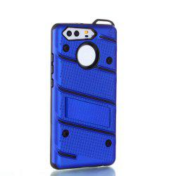 Wkae Ultra Thin Slim Dual Layer Pc Soft Tpu Back Protective Cover Case Shockproof with Kickstand for Huawei P9 -
