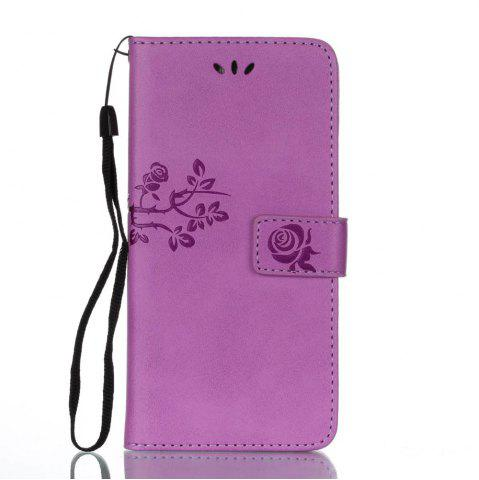 Store Wkae Double Side Embossing Rose Flower Synthetic Leather Wallet Case Soft Silicone Back Cover with Flip Kickstand And Lanyard for Huawei Mate 9 Pro