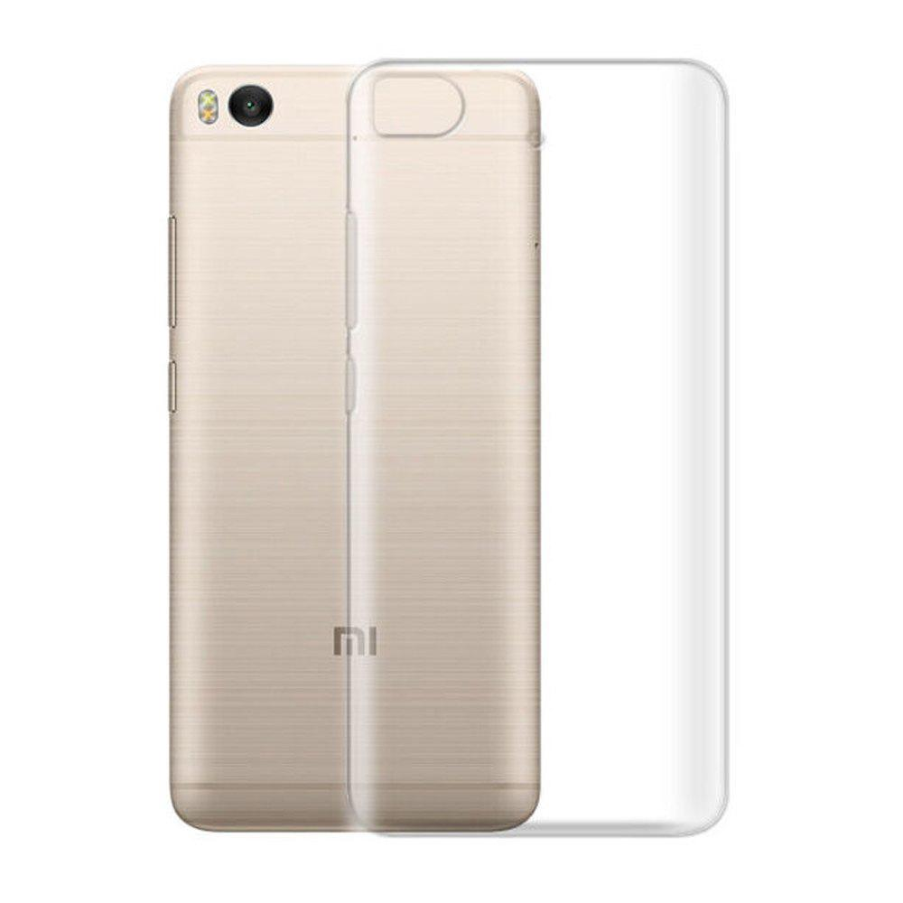 Ultra-Thin Tpu Back Cover Case for Xiaomi Mi 5S - TransparentHOME<br><br>Color: TRANSPARENT;