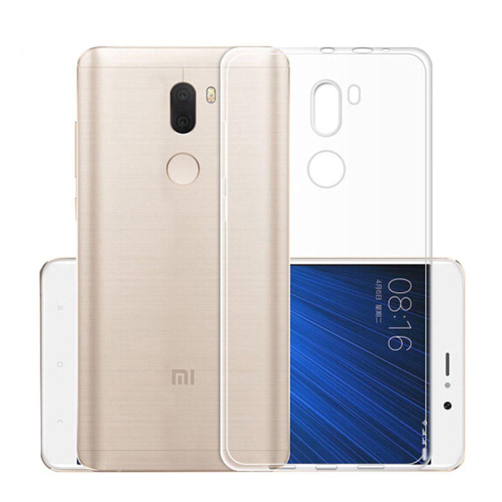 Outfits Ultra-Thin Tpu Back Cover Case for Xiaomi Mi 5S Plus- Transparent