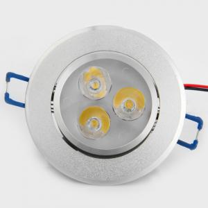 YouOKLight YK4416 3W 240Lm LED Downlight Ceiling Lamp AC 85 - 265V 6PCS -