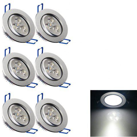 Latest YouOKLight YK4416 3W 240Lm LED Downlight Ceiling Lamp AC 85 - 265V 6PCS