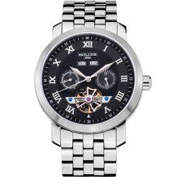 HOLUNS 4612 Business Steel Band Mechanical Men Watch -
