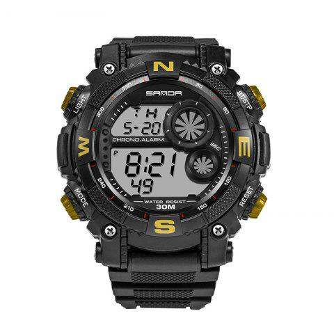 Shop Sanda 323 5304 Sports Multifunctional Men Watch