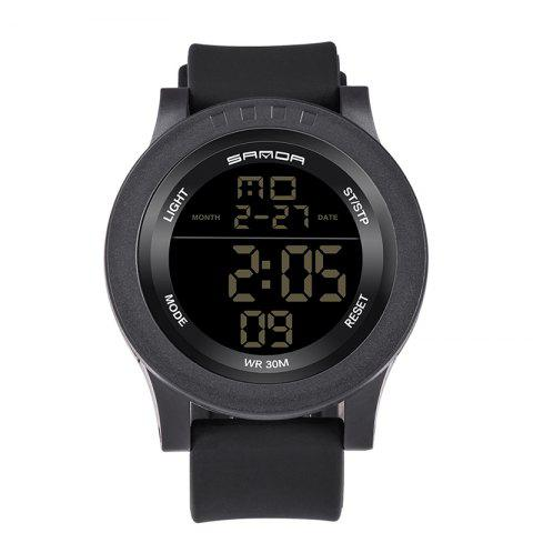 Outfits Sanda 336 5311 Leisure Multifunctional Sports Men Watch BLACK