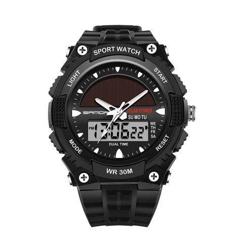 Best Sanda 719 5313 Multifunctional Outdoor Sports Men Watch - BLACK  Mobile