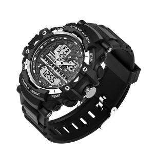 Sanda 740 5321 Outdoor Double Movement Luminous Men Watch -