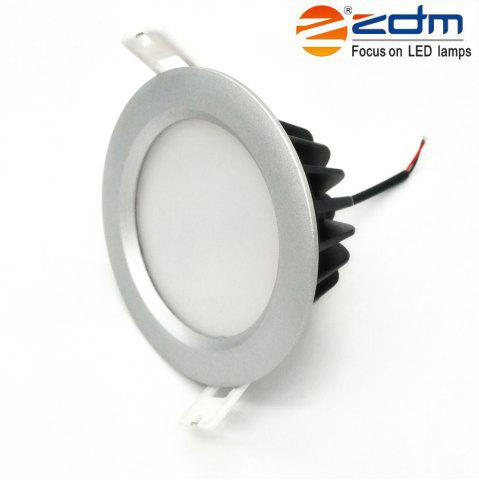 Sale Zdm 7W Waterproof Ip65 600 - 650LM Round Led Downlight Ceiling Llight Semi Outdoor Cold Ac 85-265v / Ac 12v / Ac 24v