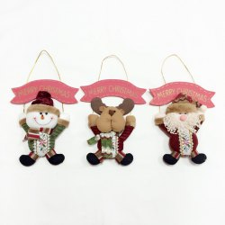 3Pcs Good Quality Christmas Decoration Door Hangers -