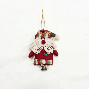 6Pcs Good  Quality Christmas Ornaments with Small Bell -