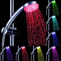 Sea Pioneer LED Light Shower Head Suitable for Home Hotel (Time Control) -