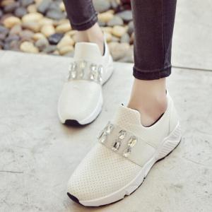 Fashion for casual flats - WHITE 39