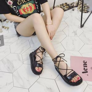 The New Fashionable Xia Jioping Heel Shoe of Platform Sandals -