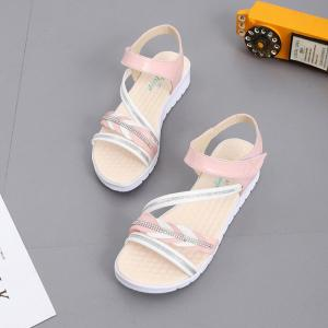 The Wedge Heel of The Student Sandals -