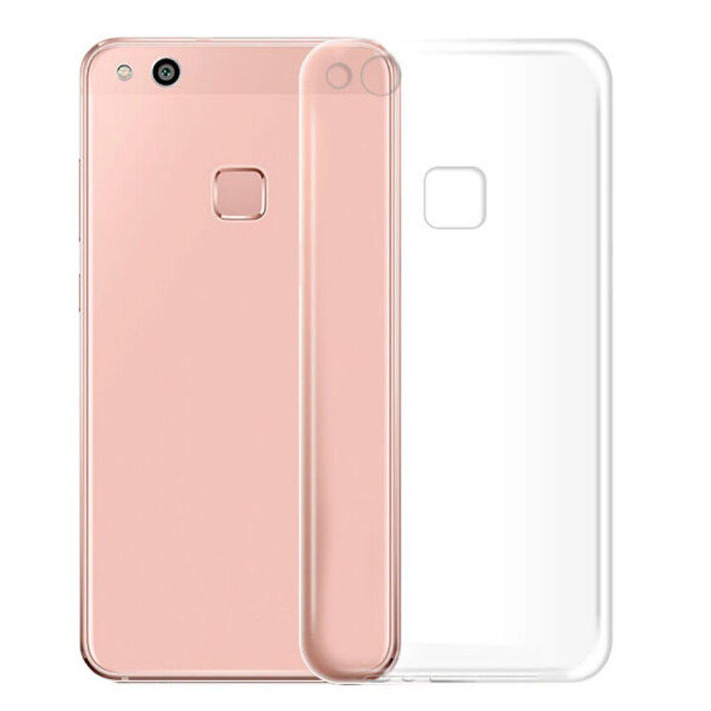 Ultra-Thin Tpu Back Cover Case for Huawei P10 LiteHOME<br><br>Color: TRANSPARENT;