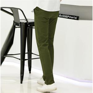 Baiyuan Trousers Casual Slim Fit Mens Pants Green - GREEN 5919/6319# 36