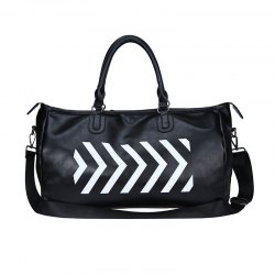 Luxury Business Water Resistant Polyester Nylon Travel Duffel Bag -