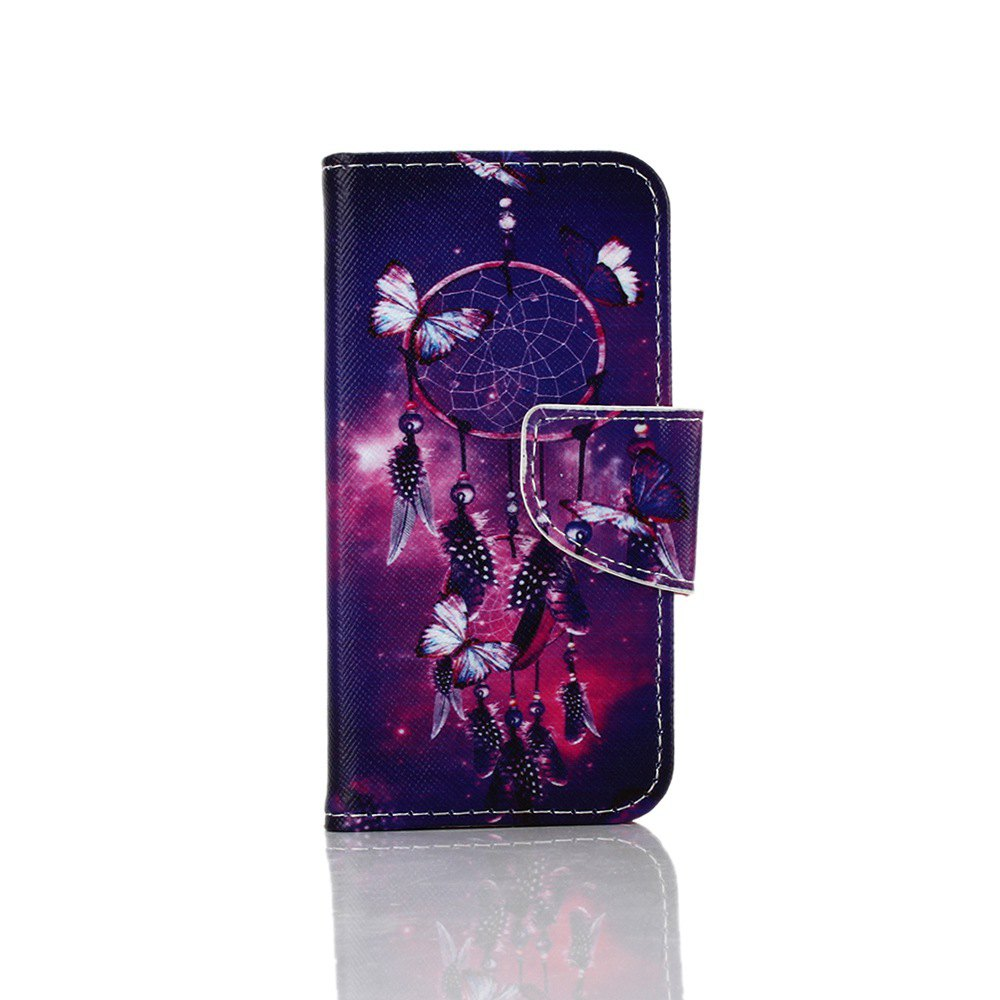 Sale Knife and Draw Painted PU Phone Case for Iphone 5 / 5S / Se